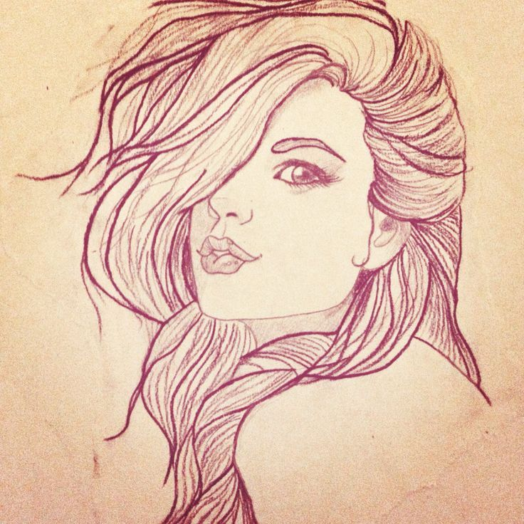 736x736 Girl Drawing Sketch Pin Up Girl Sketch Tattoo Fave Tattoos
