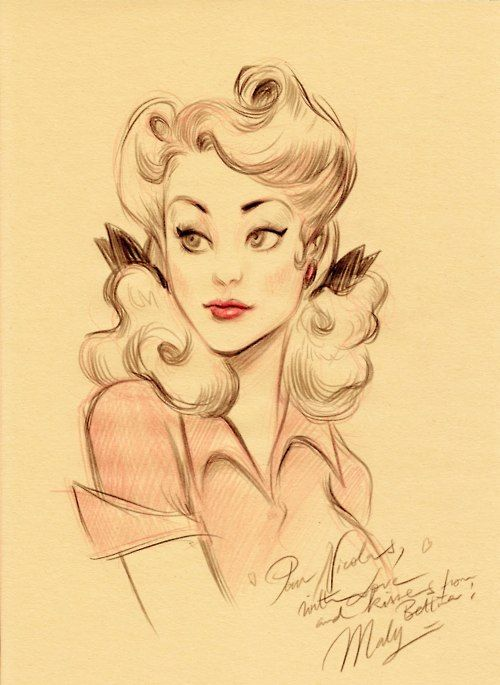 500x685 Pin Up Cartoon Character Design References Find More