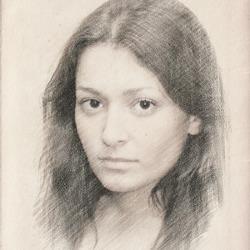 250x250 Pencil Drawing