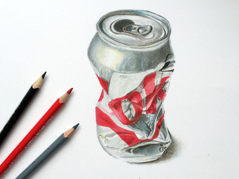 800x602 Realistic Colored Pencil Drawing