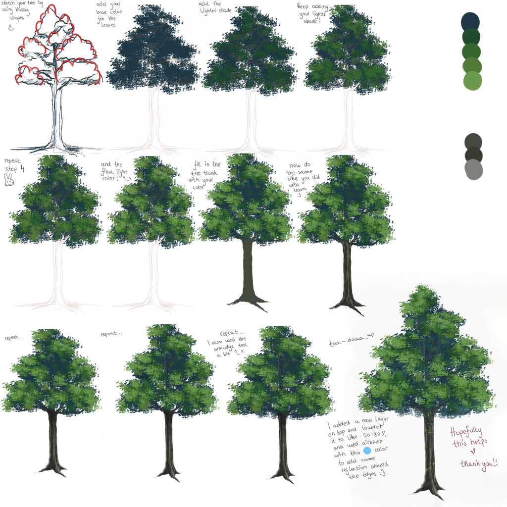 1024x1024 Anime Tree Tutorial =) By Liamsi4