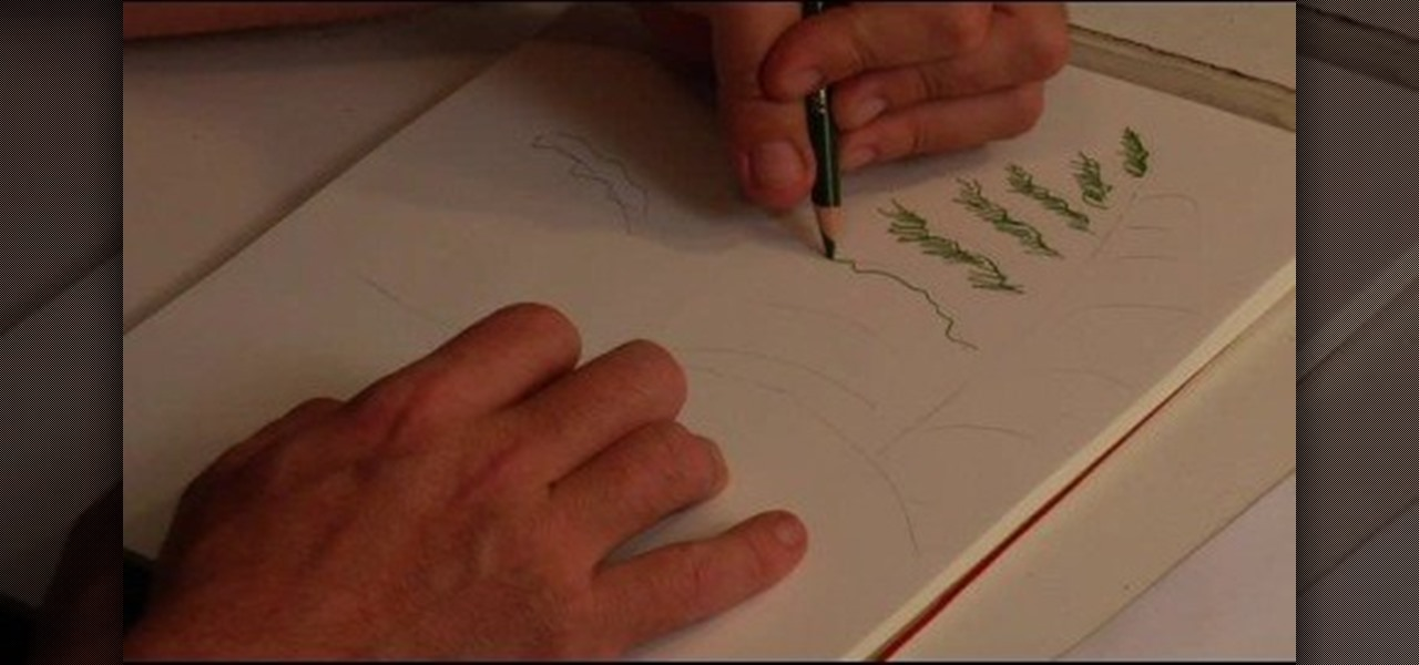 1280x600 How To Draw Snowy Pines With Colored Pencil Drawing