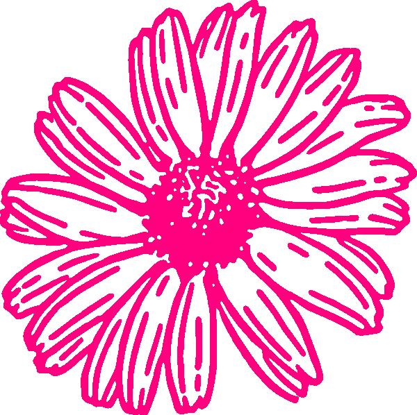 600x598 Gerber daisy clip art Gerberdaisypink Clip Art Wedding Misc