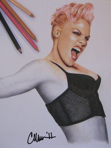 375x499 Pink Drawing By Live4artinla