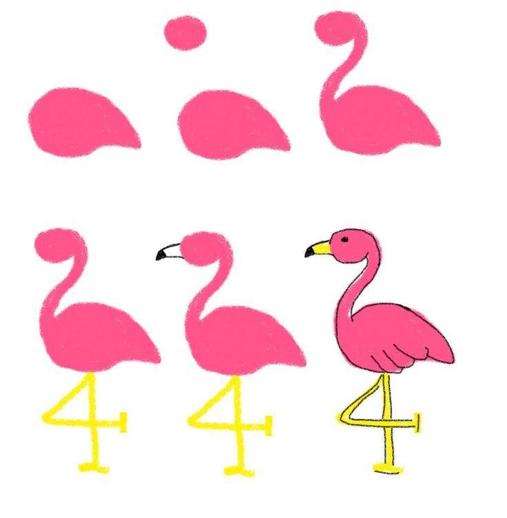 736x753 Palm Tree And Flamingo Cookies Flamingo, Palm And Journal