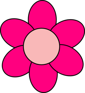 276x300 Pink Flower Clip Art
