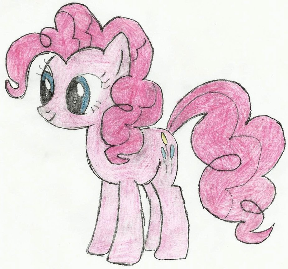 Pinkie Pie Drawing at GetDrawings.com | Free for personal use Pinkie ...