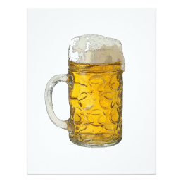 260x260 Beer Drawing Invitations Amp Announcements Zazzle