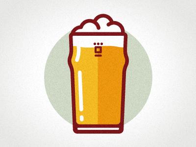 400x300 Drawn Beer Pint Beer