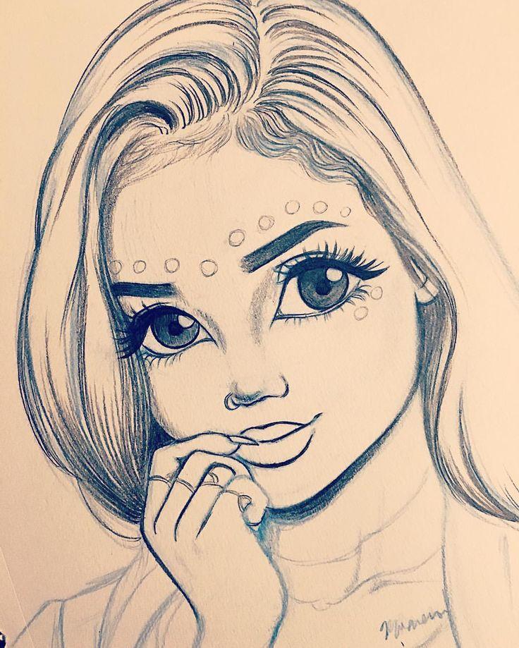 736x919 Gallery Drawing Girl,