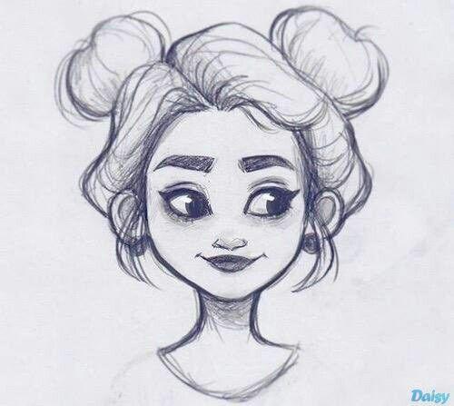 500x447 Hair Flow Art Drawing Inspiration Illustration Artsy