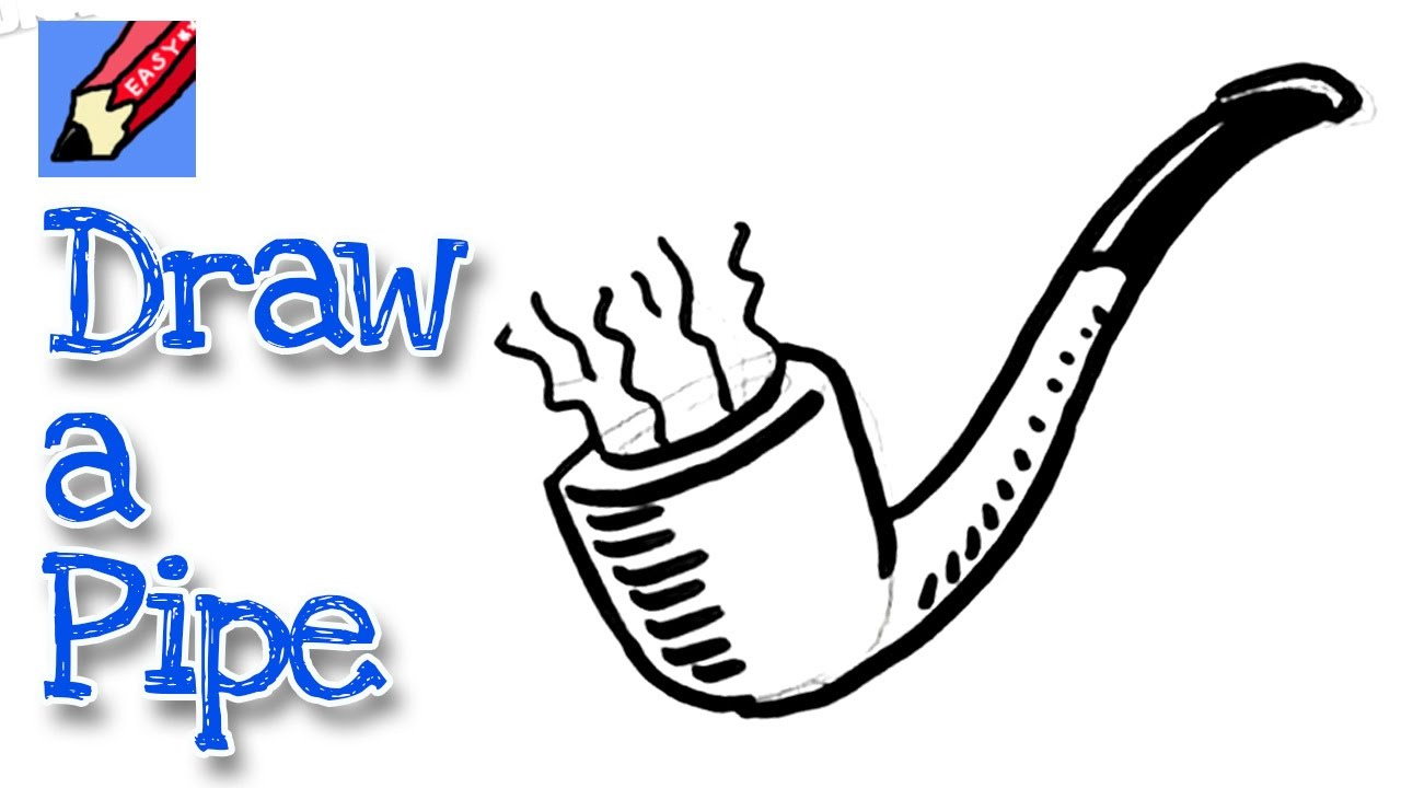 1280x720 How To Draw A Pipe Real Easy