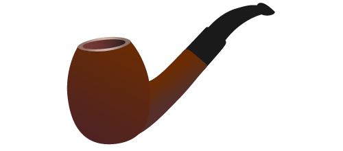 500x220 Illustrator Tutorial Wooden Smoking Pipe
