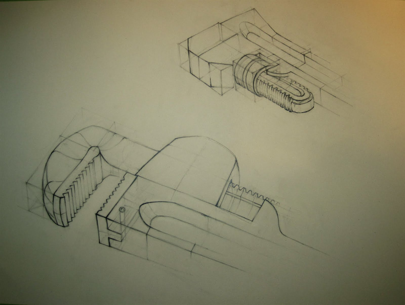 1600x1207 Travis J Wagner Pipe Wrench Study