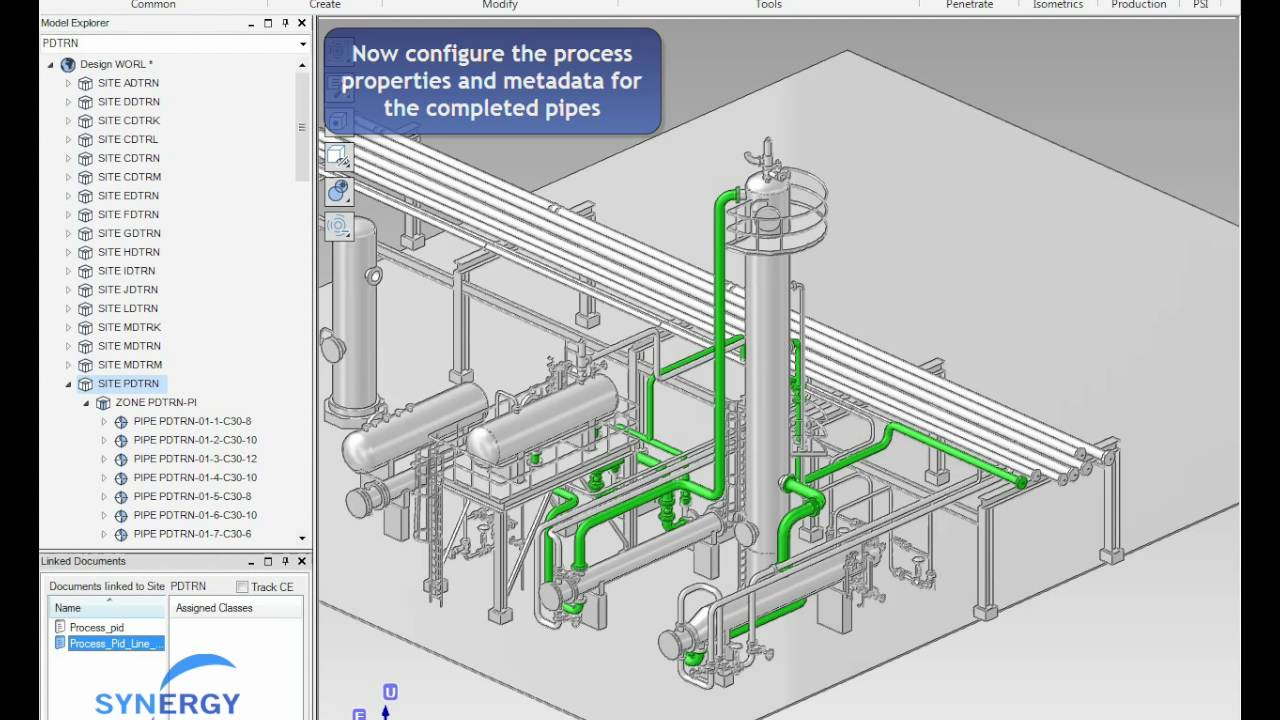 1280x720 Preparing Pipes For Drawing Production (E3d)
