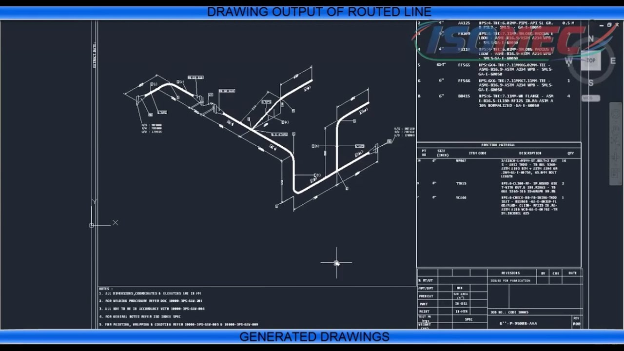 1280x720 Draw Piping Isometric Drawings By Isomac Software