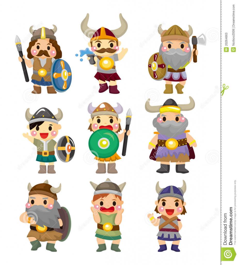 926x1024 Cartoon Drawing Of Vikings Cartoon Viking Pirate Icon Set Stock