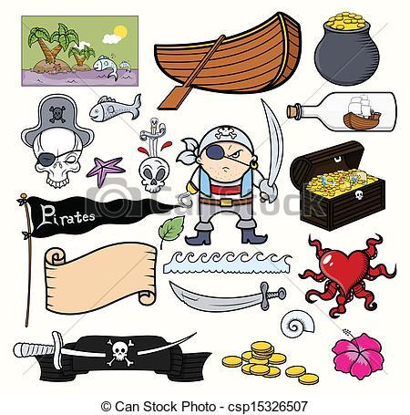 450x455 Pirate Cartoons Vector. Drawing Art Of Cartoon Pirates Vector