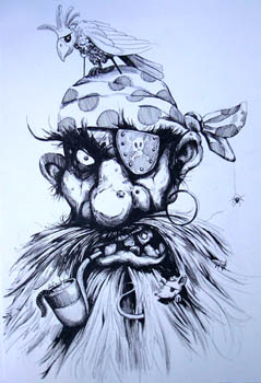 239x350 Pirate Drawings The Ugliest Pirate Ever To Grace A Convent