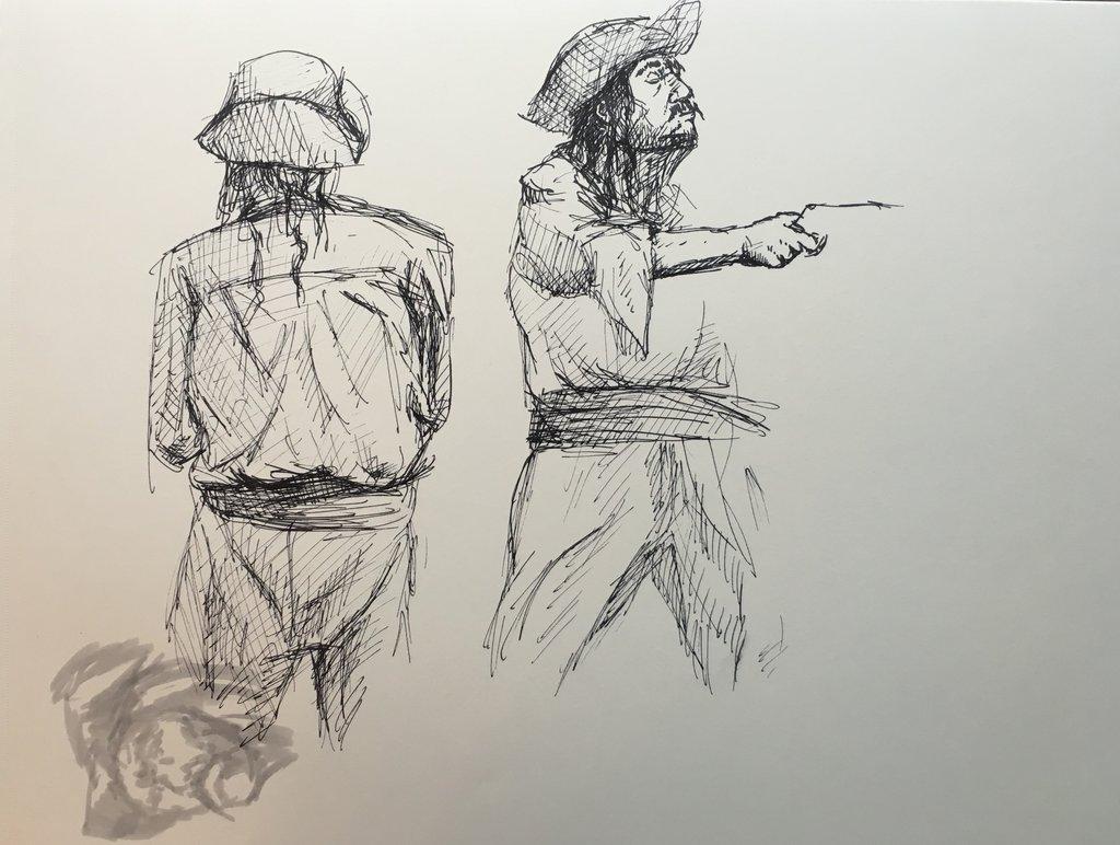 1024x772 Pirate Life Drawings By Garz2000