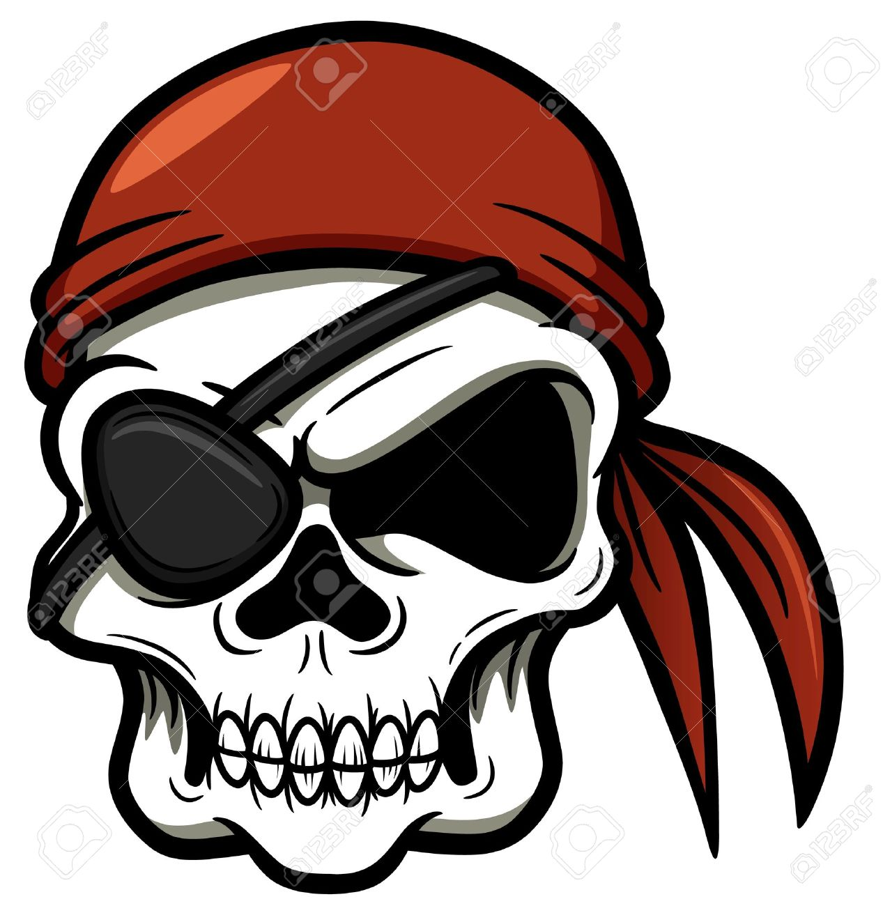 pirate skull drawing at getdrawings com free for