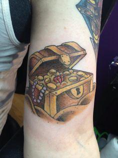 236x314 Treasure Chest Drawing Tattoo Tattoo On Mexican Tattoo