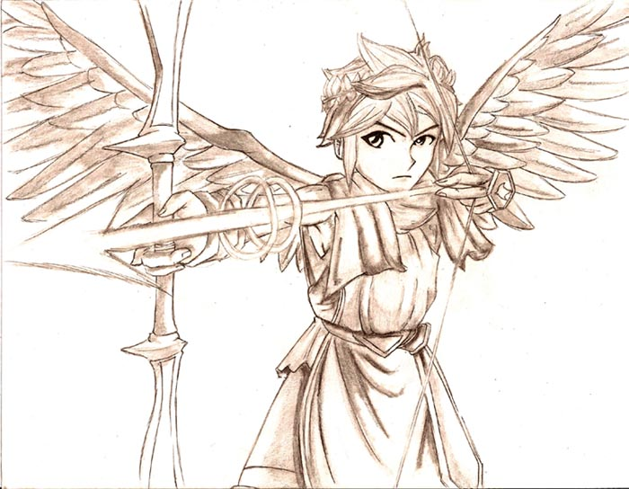 700x544 Pit Of Kid Icarus By CaptainDeath On DeviantArt