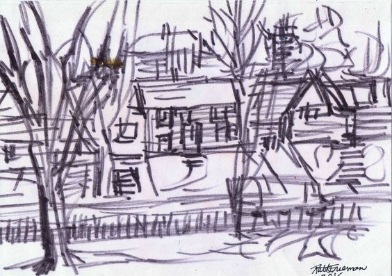 564x397 8 Best Outdoor Sketches Images On Draw, Croquis