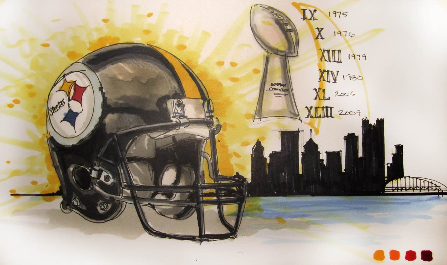 promo code d65e8 45145 Pittsburgh Drawing at GetDrawings.com | Free for personal ...