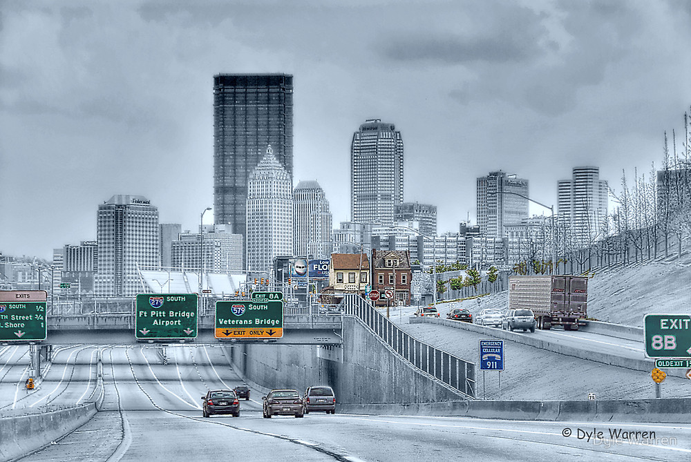 1000x669 Pittsburgh Skyline By Dyle Warren Redbubble