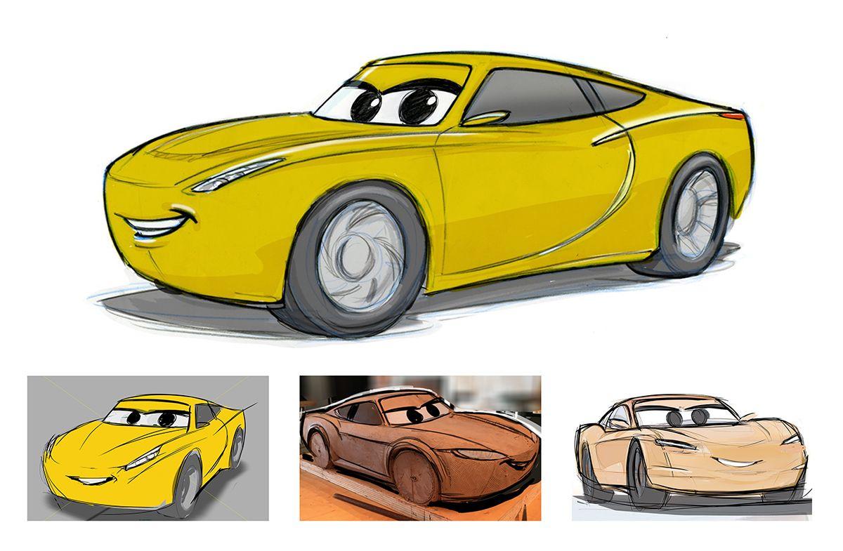 1200x785 Disney Pixar Cars 3 Concept Art Cruz Ramirez Disney Pixar