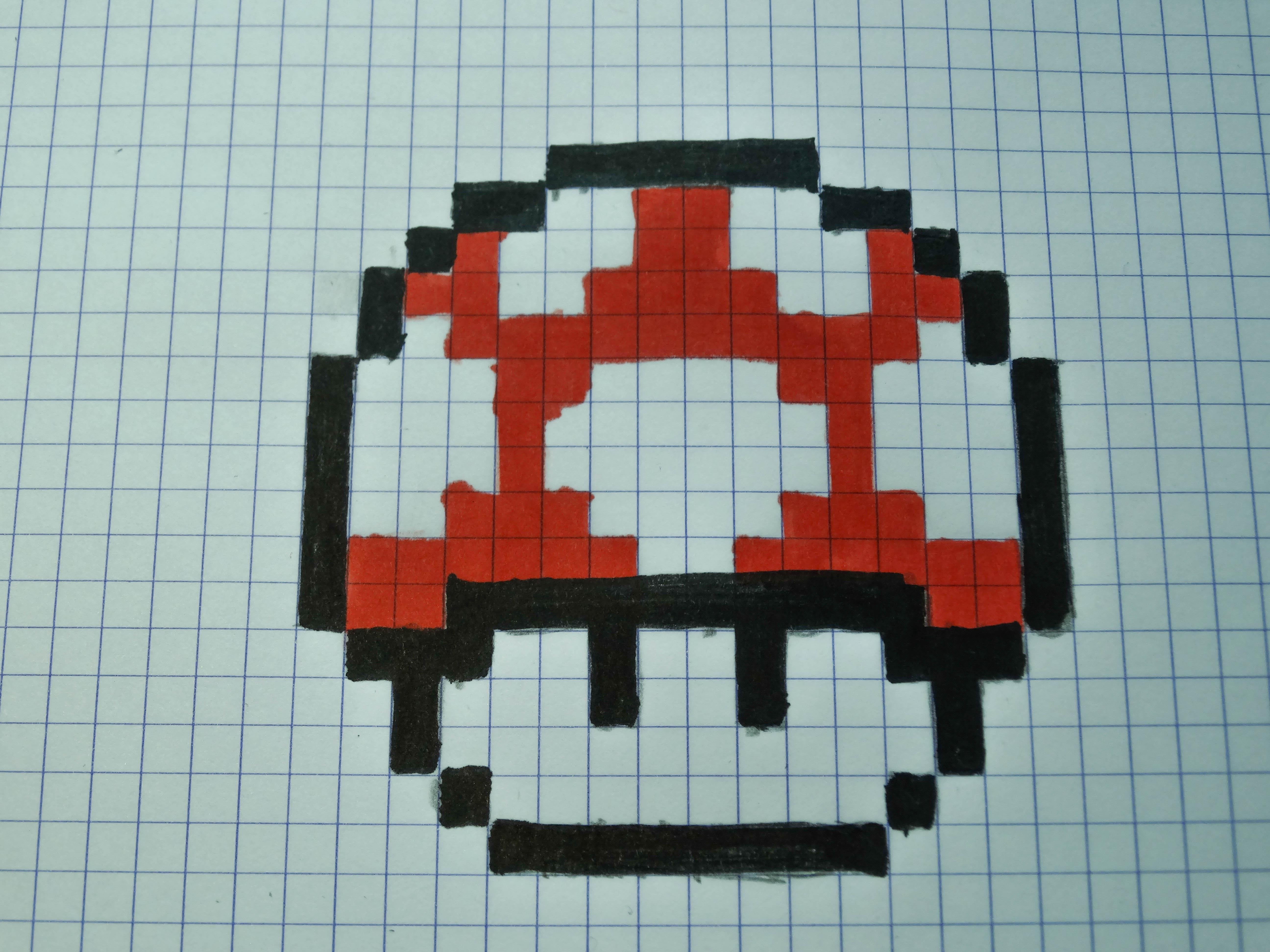 Pixel Art Nourriture Kawaii Facile