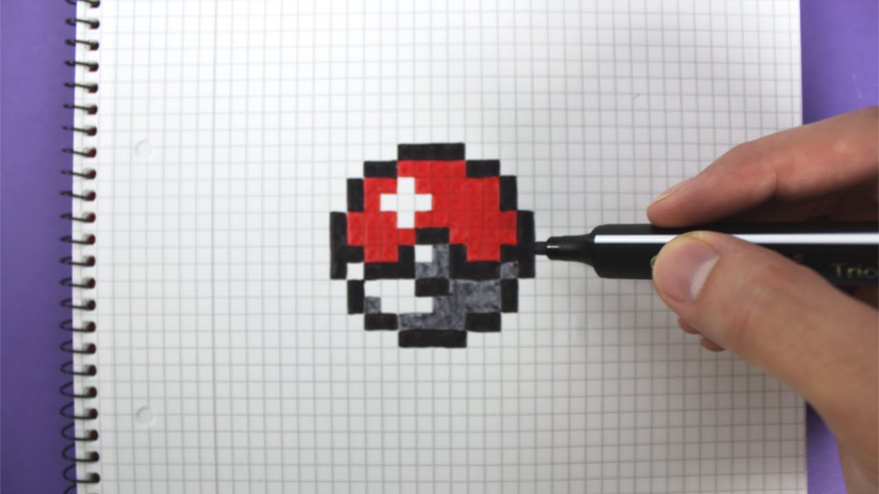 1280x720 How To Draw A Pokeball