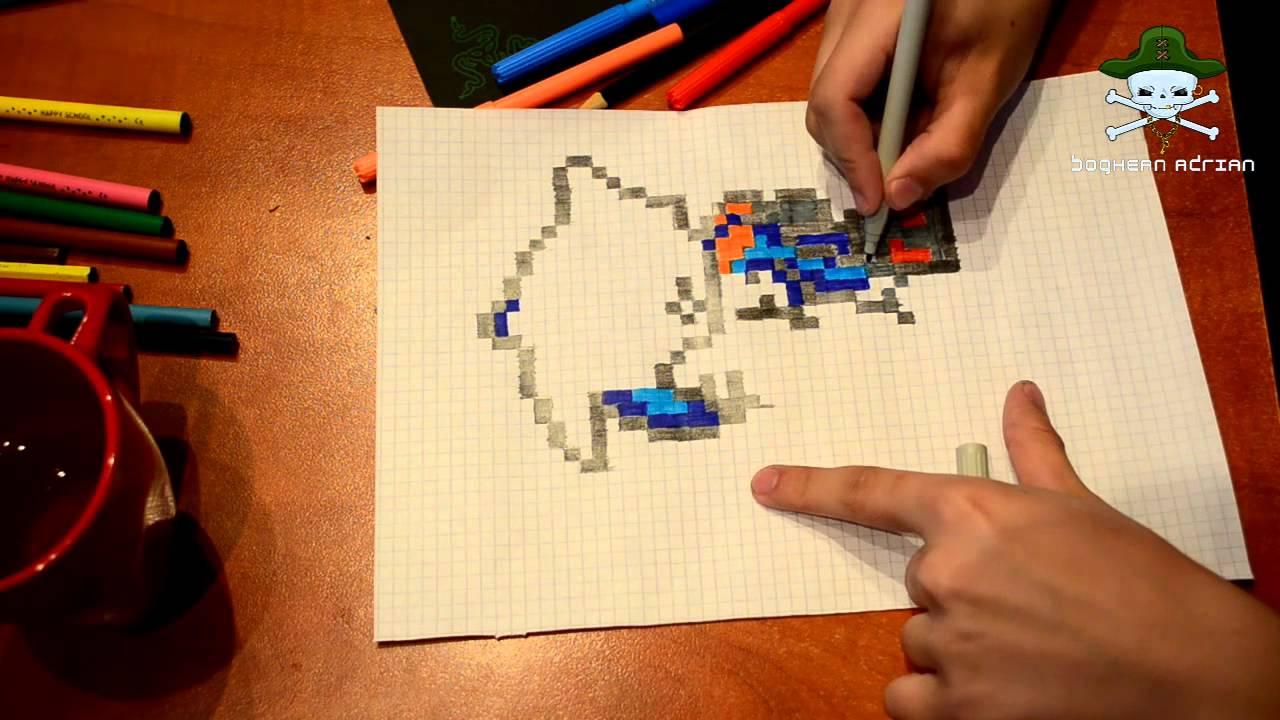 1280x720 Drawing Pixel Art