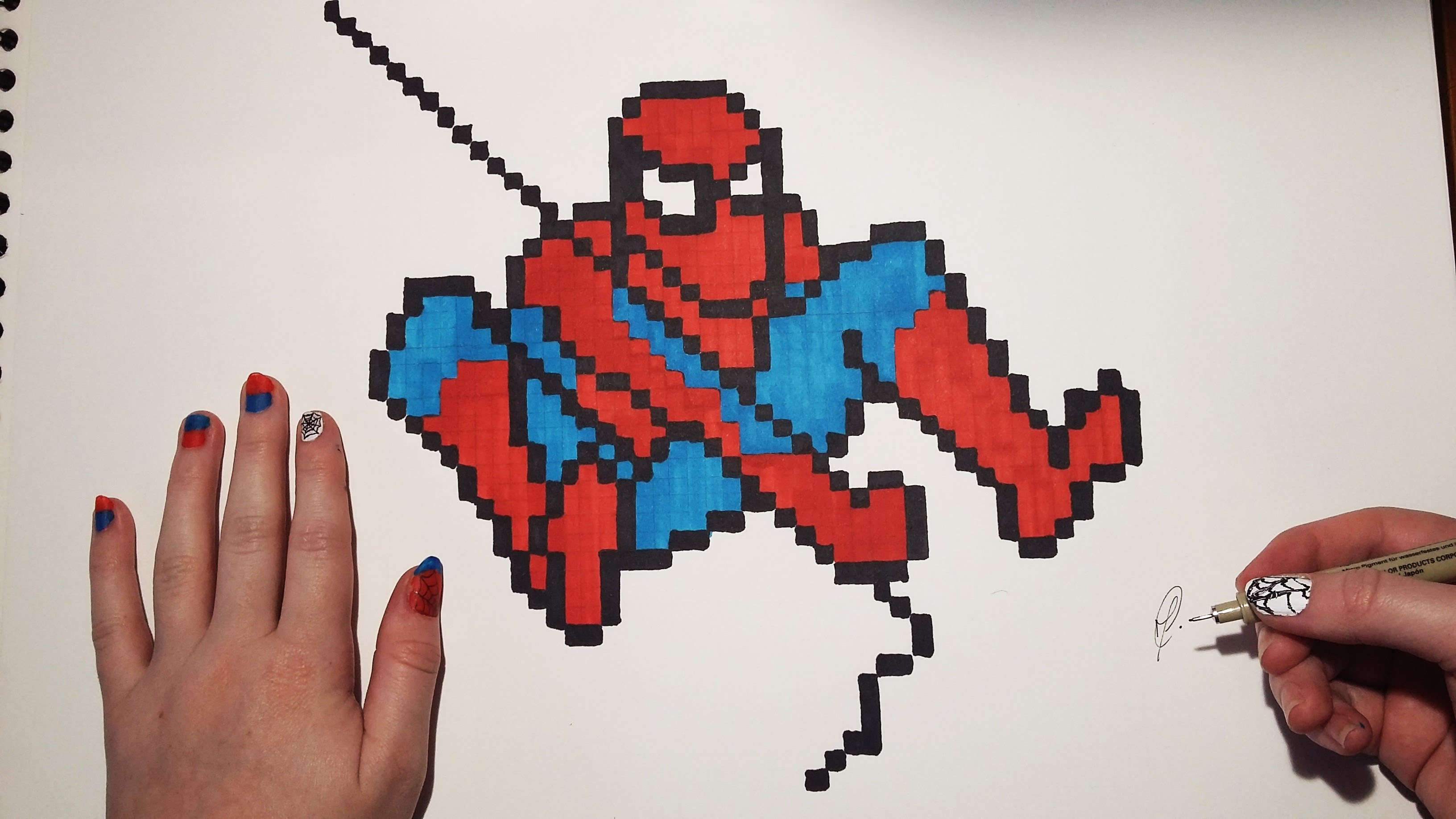 3264x1836 How To Draw Spiderman