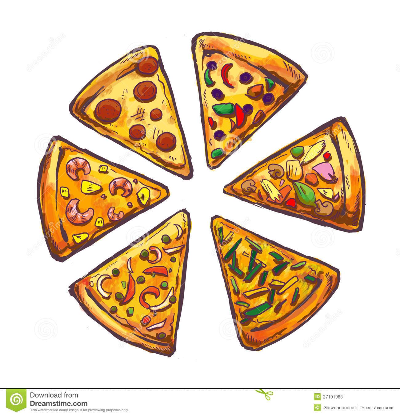 1300x1353 Illustartion Degli Alimenti A Rapida Preparazione Della Pizza