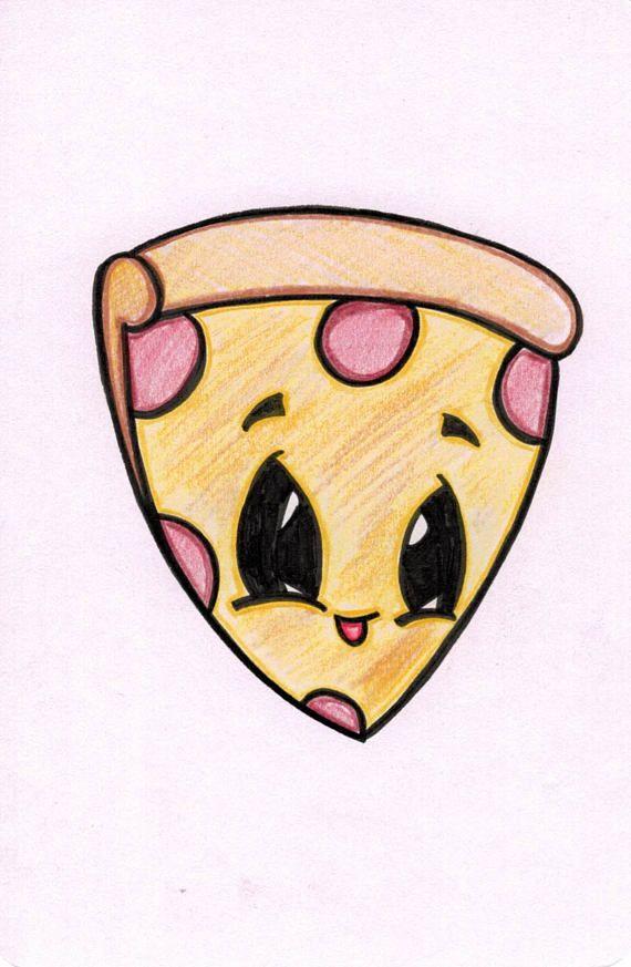 570x873 Pizza Cartoon Handmade Art And Craft