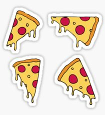 210x230 Pizza Drawing Stickers Redbubble