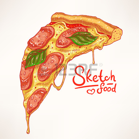 450x450 14,726 Pizza Slice Stock Illustrations, Cliparts And Royalty Free