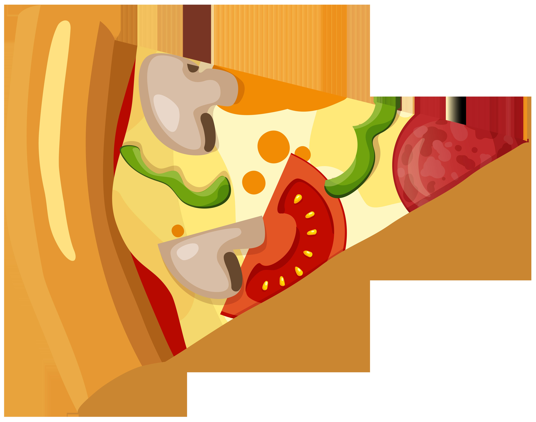 6000x4720 Pizza Slice Png Clip Art