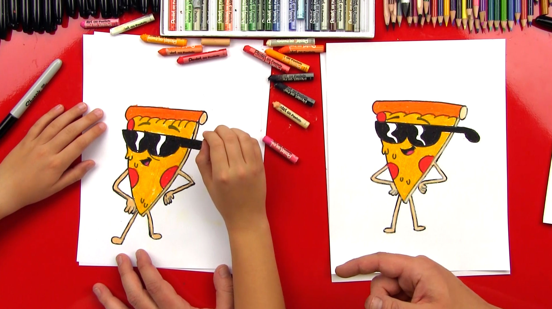 1912x1072 How To Draw Pizza Steve