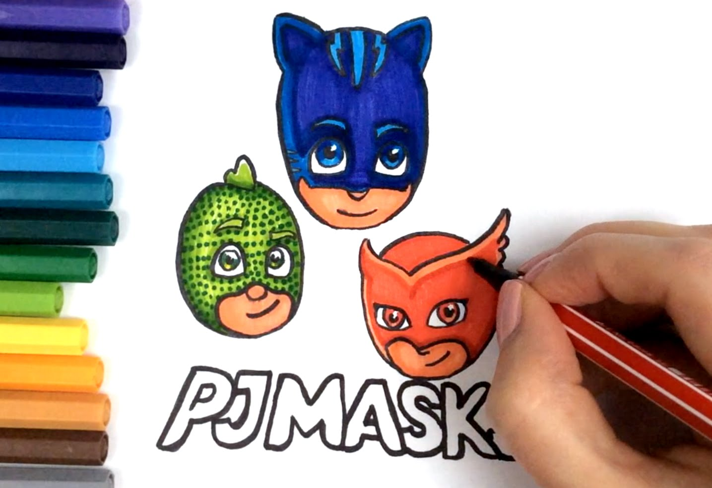 pj mask drawing 56