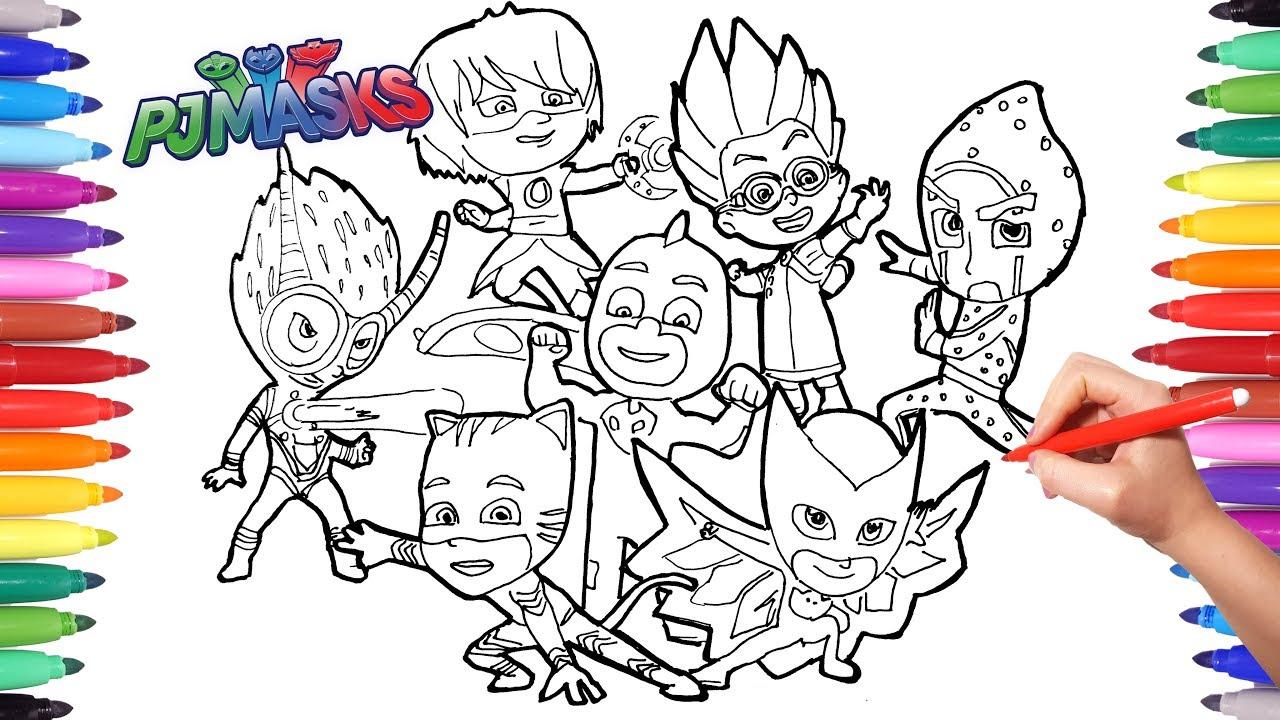 pj masks drawing at getdrawings   free download