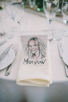 236x353 Groom Portrait. Caricature. Place Setting. Wedding Gift For Guests