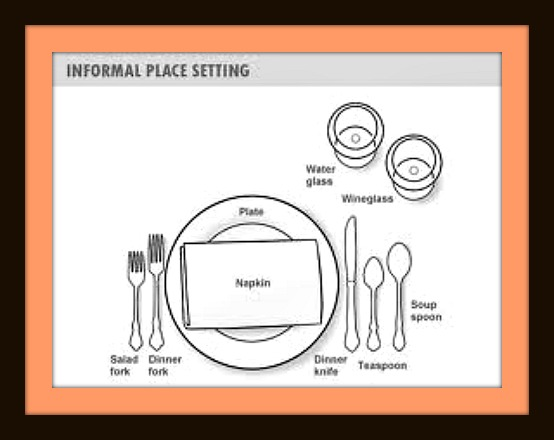 554x440 How To Set A Proper Table Dishing With Diane