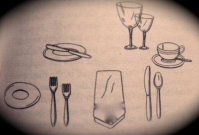 400x271 Etiquette Proper Table Setting Informal Three Course Dinner