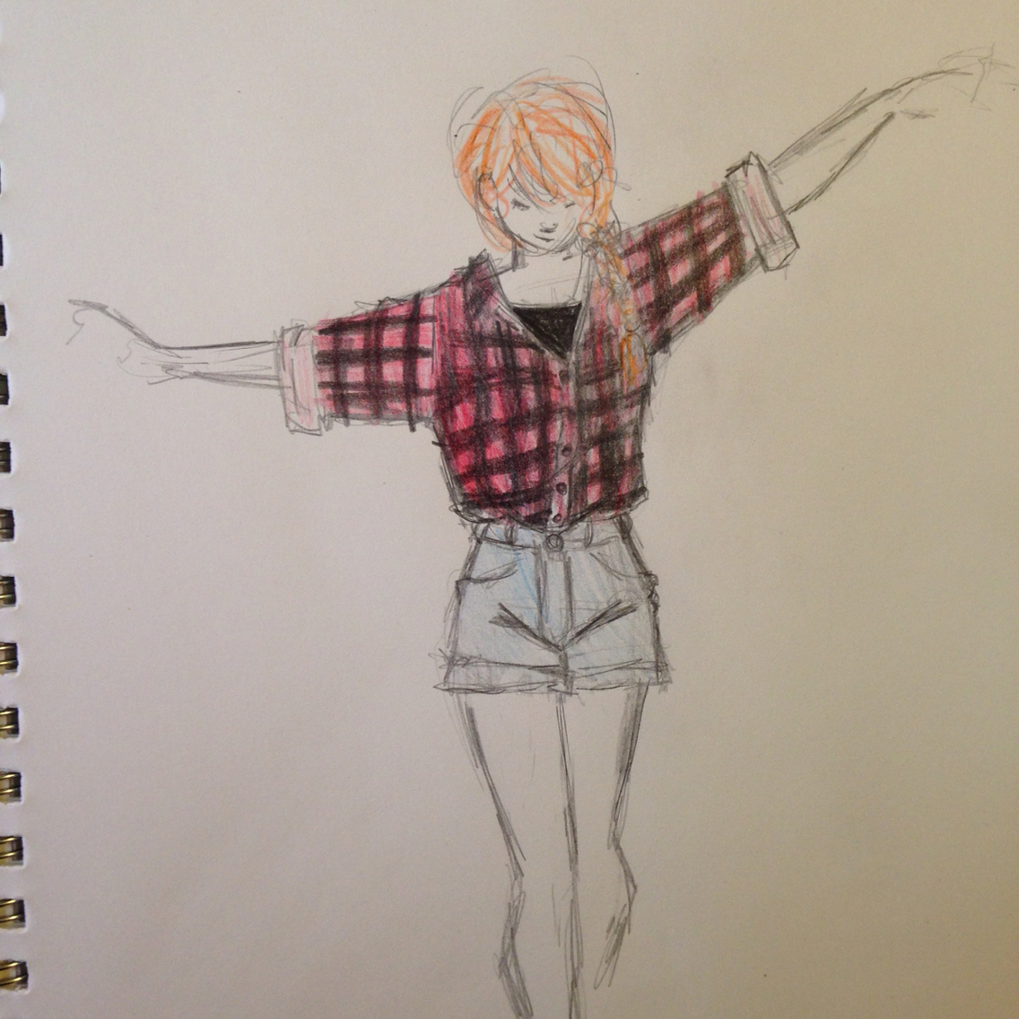 1136x1136 Rose Weasley . I Imagine Her To Wear Big Flannel And Plaid