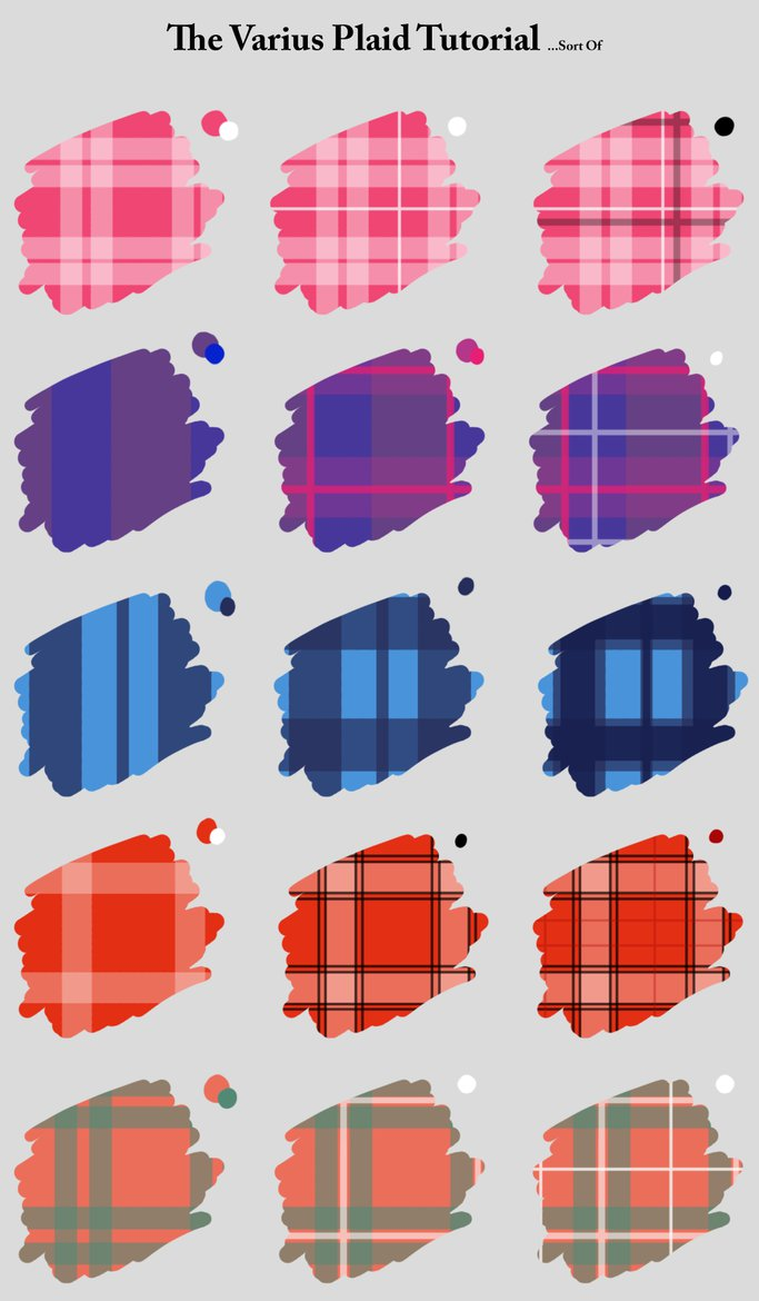 683x1170 The Various Plaid Tutorial By Colletteren