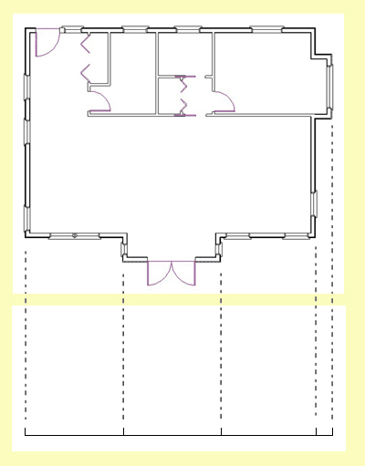 400x511 How To Draw Elevations