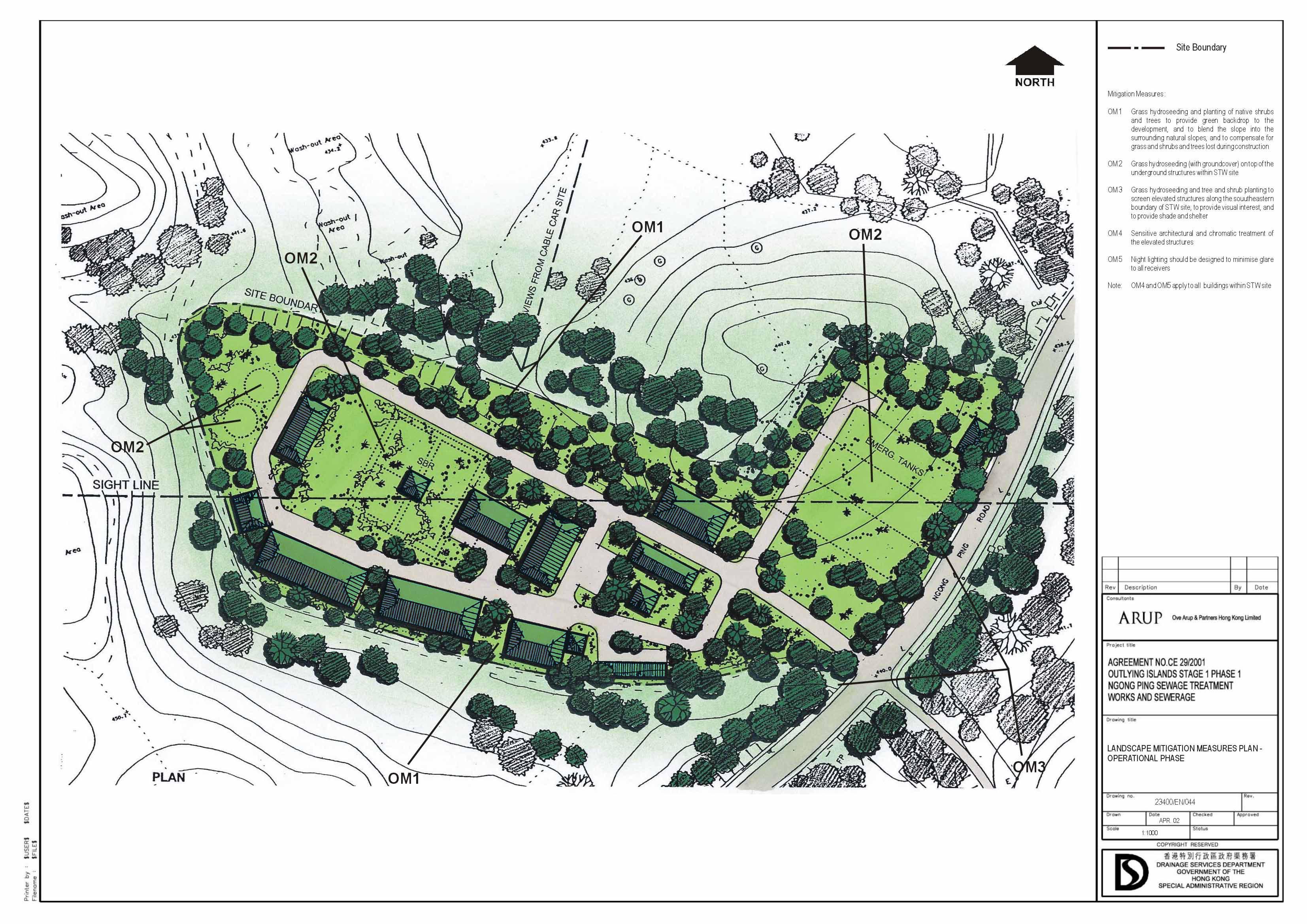 3307x2339 Landscape Plan Drawing